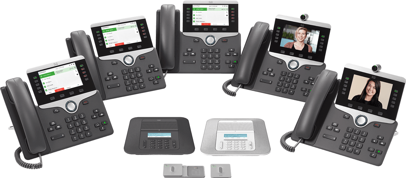 Cisco IP Phone der Serien 7800 und 8800