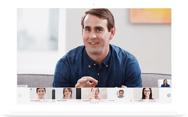 Bild: Webex Meetings App