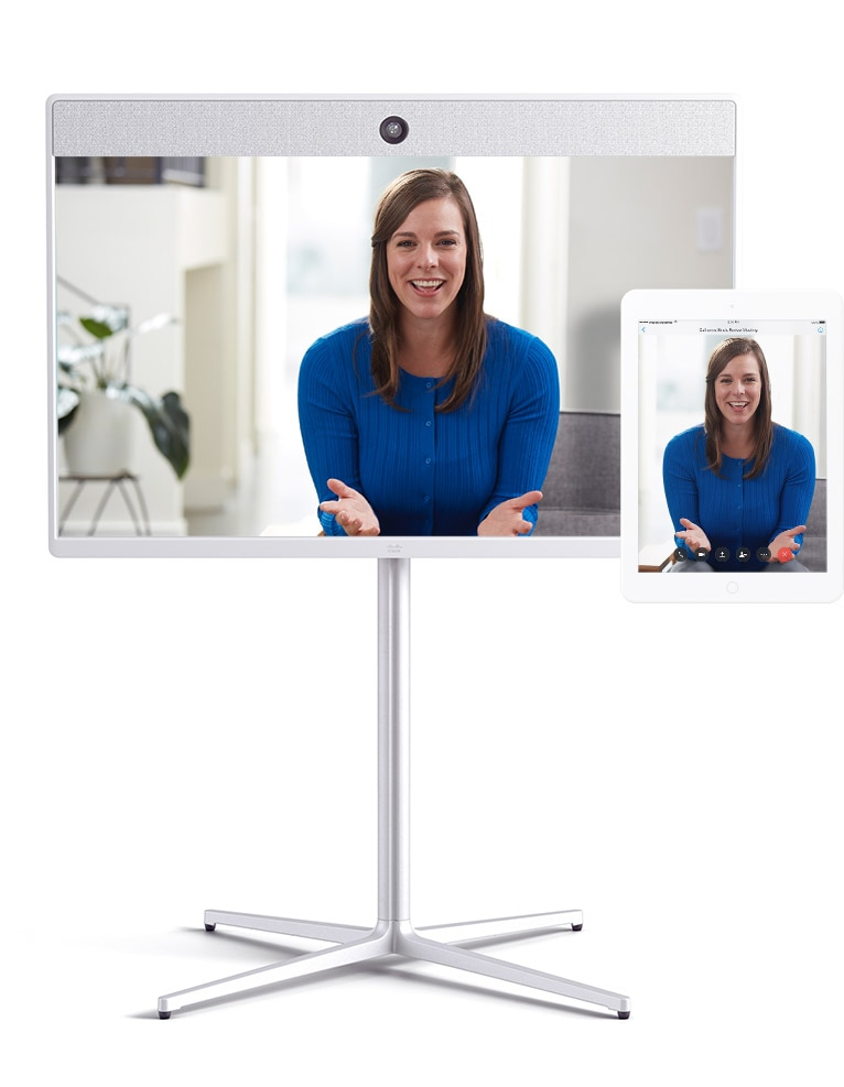 Video calling with Cisco Webex Room 55 and Webex Meetings app