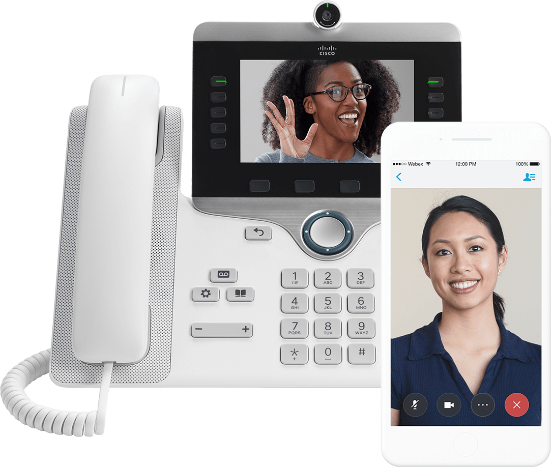 Cisco secure IP phones