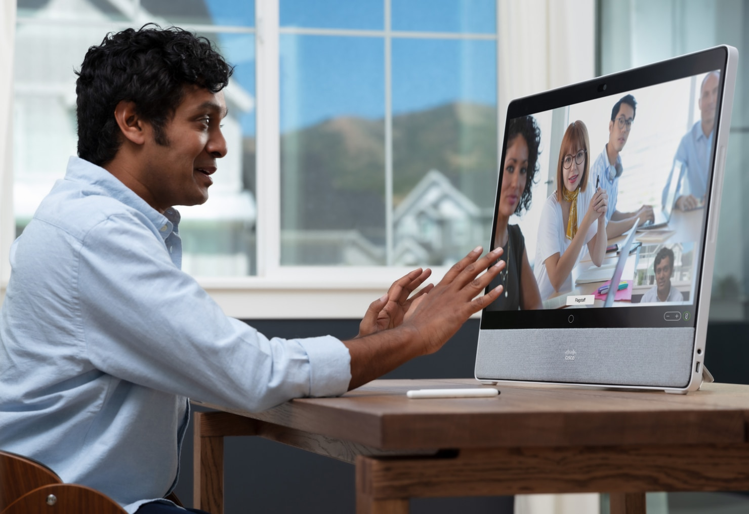 family on virtual healthcare consult