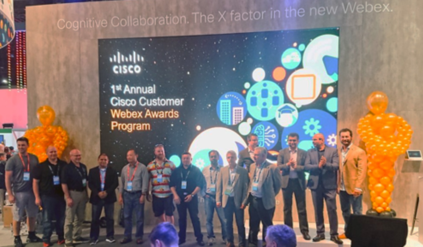 Who won the 2019 Webex Awards