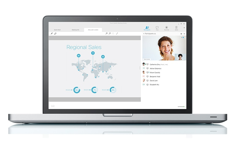 Cisco Webex Screen share