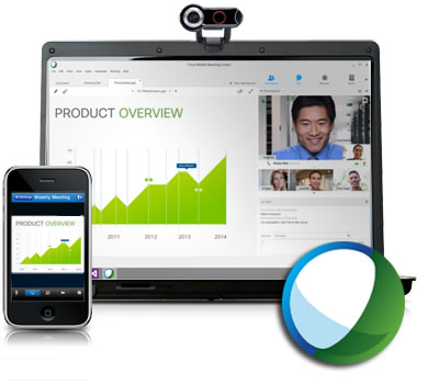 Laptop_and_smartphone_displaying_WebEx_video_conferencing