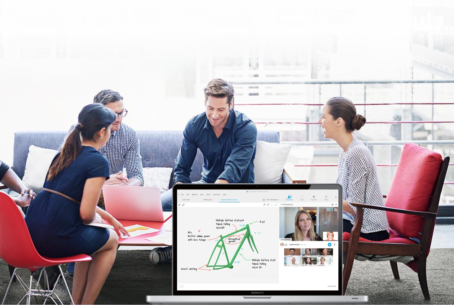 Team collaboration with Cisco WebEx
