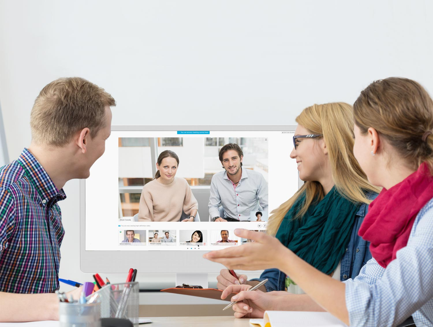 Video conferencing with Cisco WebEx